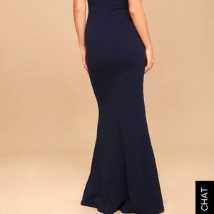 b0401541a7ce4 Lulu s Dresses - Lulu s MELORA NAVY BLUE SLEEVELESS MAXI DRESS